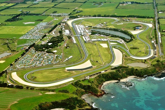 Preview of Phillip Island: Of Spectacular Circuits, History in the Making, & A Legends Last Chance phillip island circuit aerial view 635x423