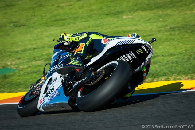 Friday Summary at Valencia: MotoGP Mind Games, Burgess Dignity, And Rossis Swansong 2014 Friday Valencia MotoGP Scott Jones 05 635x423