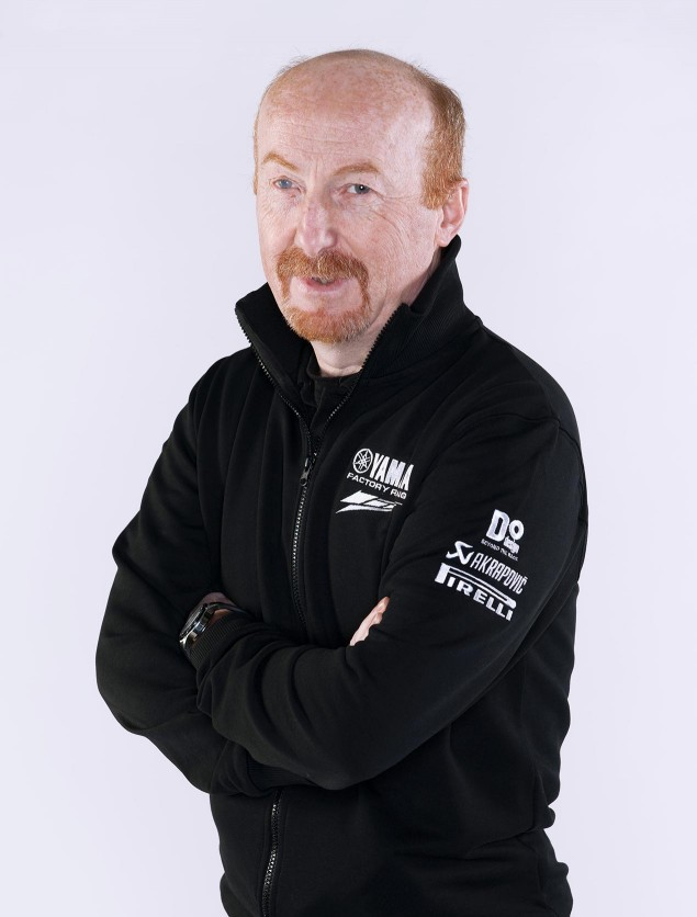 Yamaha Confirms Silvano Galbusera as Rossis New Chief Silvano Galbusera crew chief Yamaha Racing 635x836