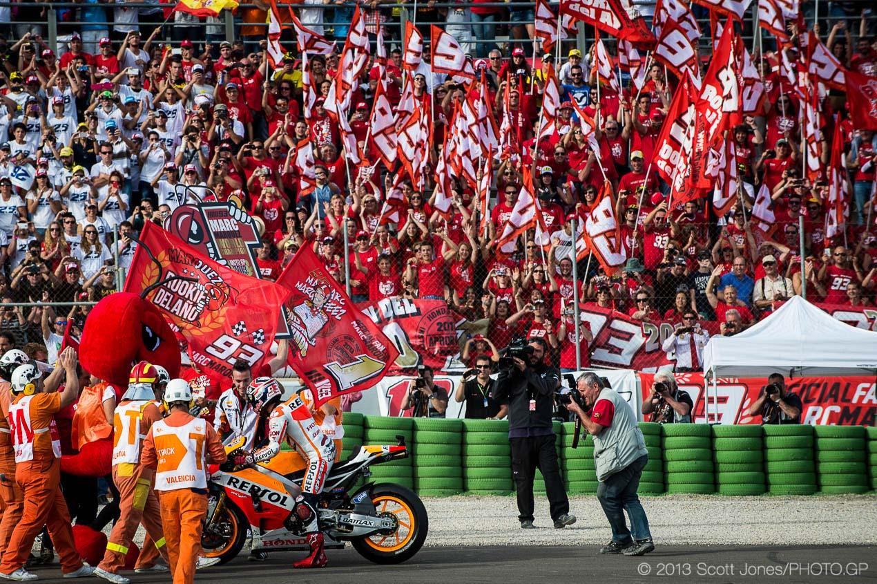 Marc Marquez is the 2013 MotoGP World Champion - Asphalt & Rubber
