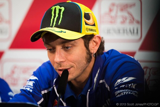 Jeremy Burgess Will Not Be Valentino Rossis Crew Chief for the 2014 MotoGP Season valentino rossi jeremy burgess motogp announcement scott jones 635x423