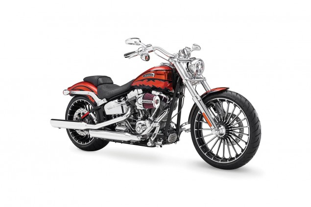 Harley Davidson Issues Clutch Recalls for 2014 Bikes Harley Davidson CVO Breakout FXSBSE 635x423