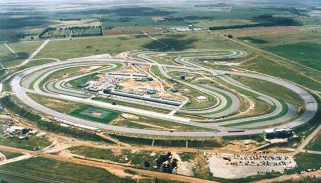 Welkom Back: World Superbike Returns to South Africa Phakisa Freeway track aerial