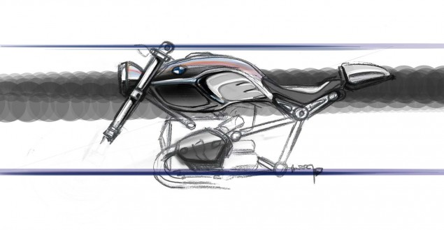 Modular Design & Why the BMW R nineT is Such a Big Deal bmw r ninet design sketch 635x330