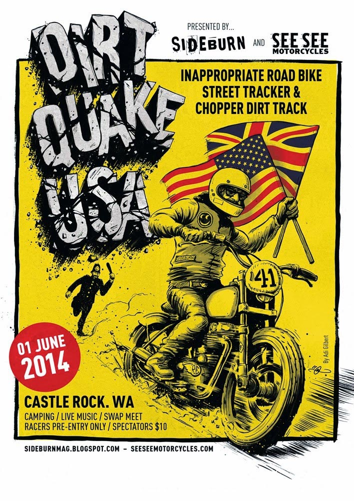 Dirt Quake USA is a Go!!! dirt quake usa poster