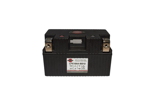 LiFePO4 Starter Batteries   The Easiest Way to Shed Weight Off Your Motorcycle shoari lfx 19a4 bs12 635x400