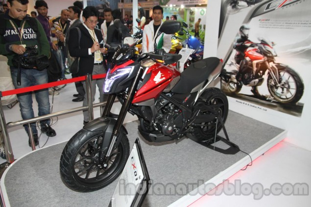 Honda CX 01 Concept Revealed in India Honda CX 01 Concept 635x423