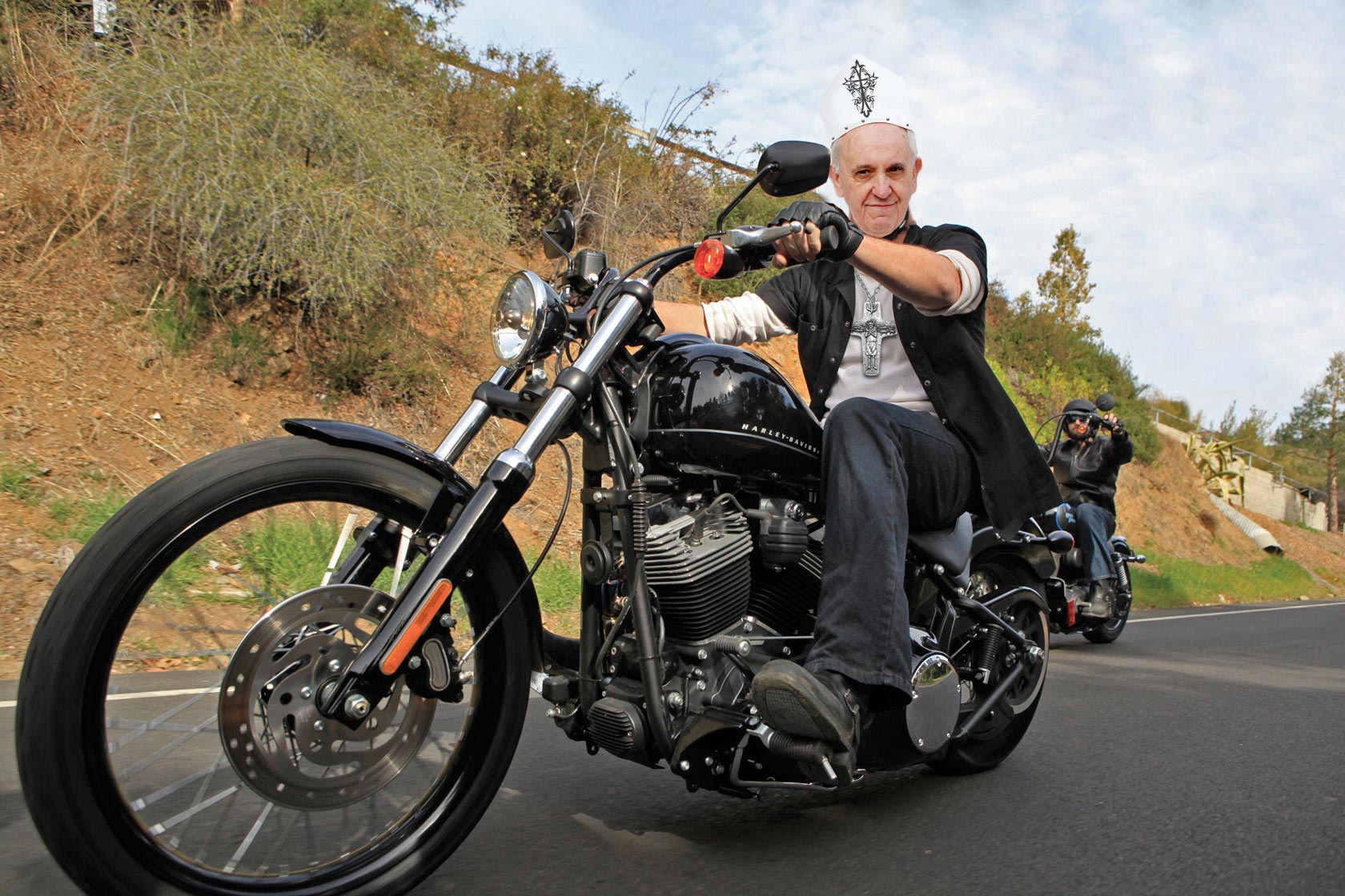 Farmers House Insurance >> Pope's Harley-Davidson Fetches $329,000 at Auction - Asphalt & Rubber