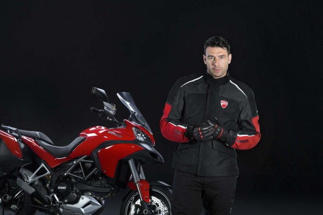 Ducati Announces Multistrada D Air Model with Integrated Wireless Airbag Capabilities from Dainese Ducati Multistrada D Air Dainese Airbag 01 635x423