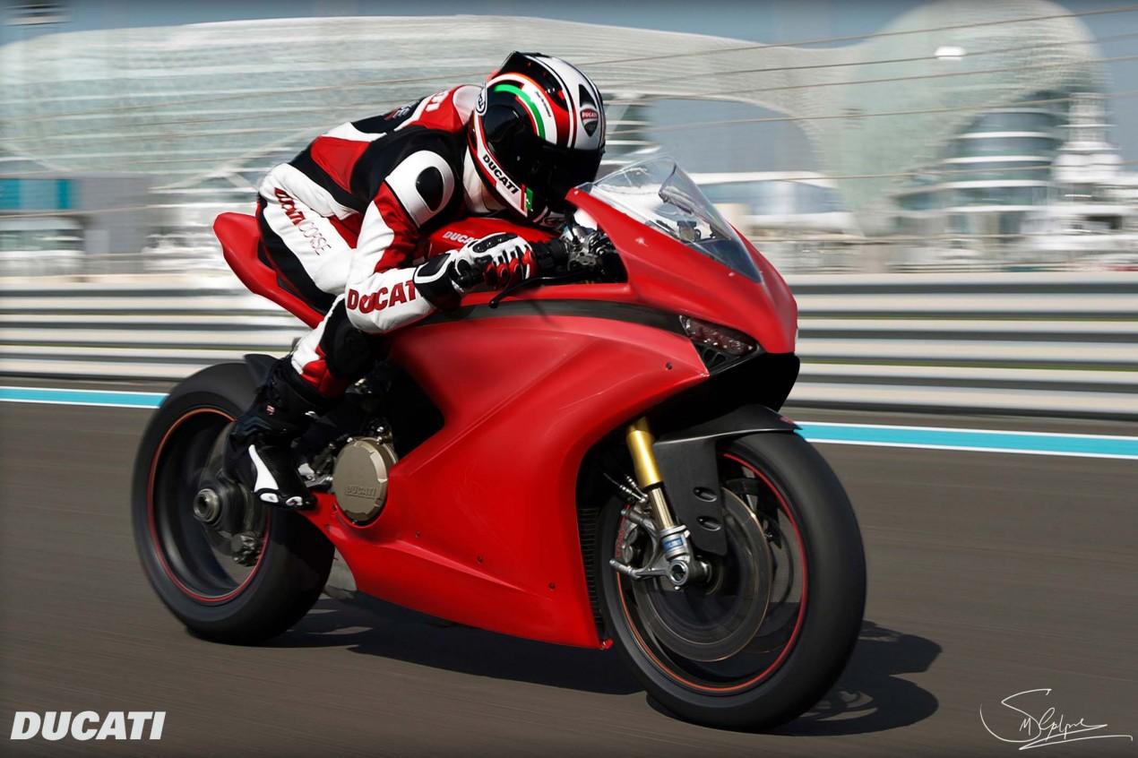 Storm Electric Bike >> Ducati VR|46 Concept by Steven Galpin - Asphalt & Rubber