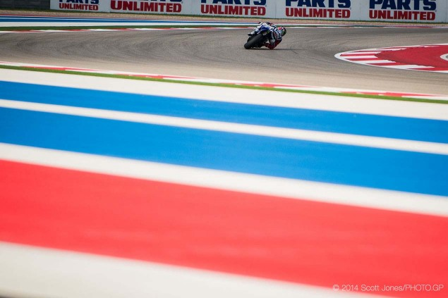 Saturday Summary at Austin: Marquezs Confidence, Lorenzos Engine, and Millers Charisma 2014 Saturday COTA Austin MotoGP Scott Jones 11 635x423