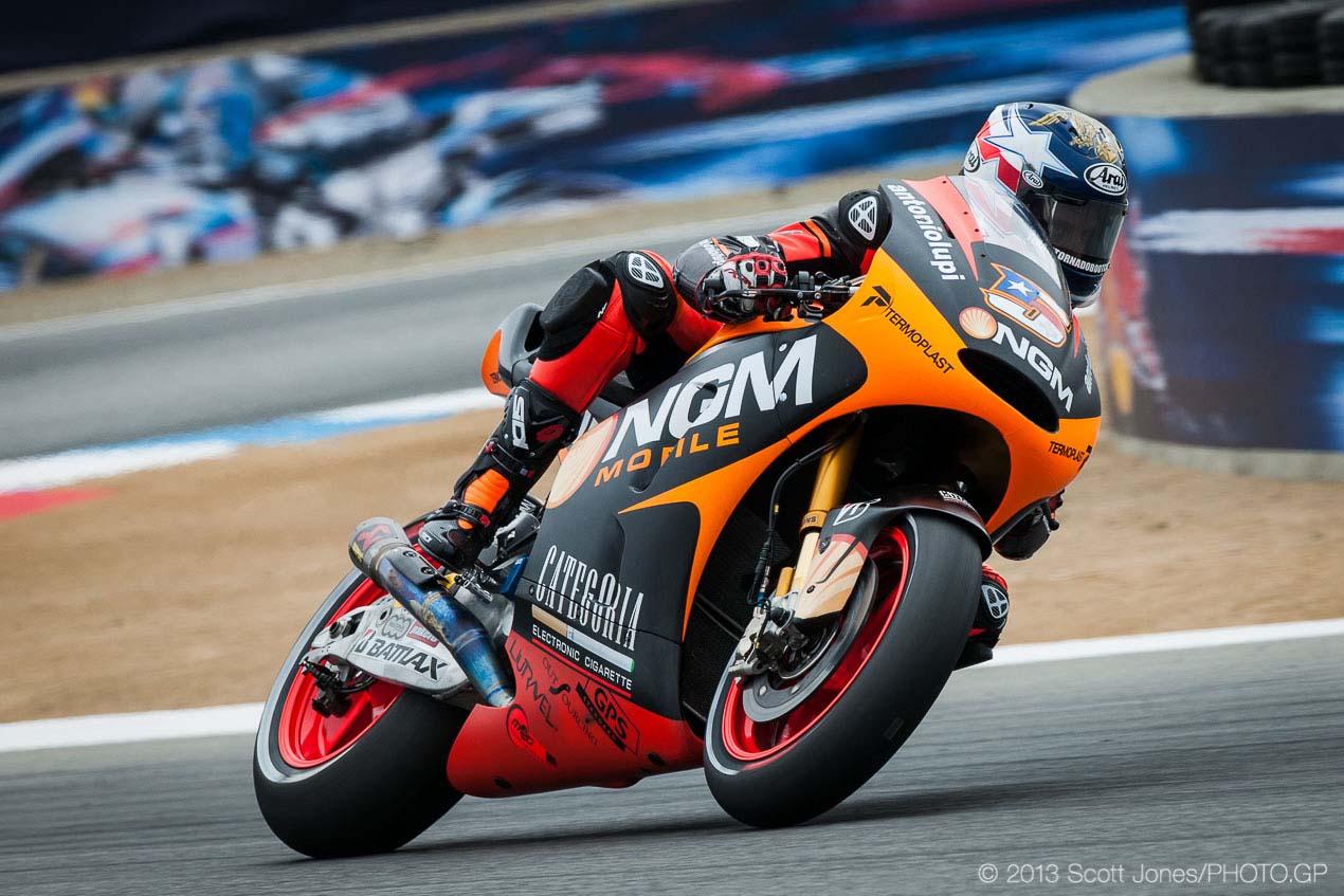 for sale: colin edwards' crt motogp race bike - asphalt & rubber
