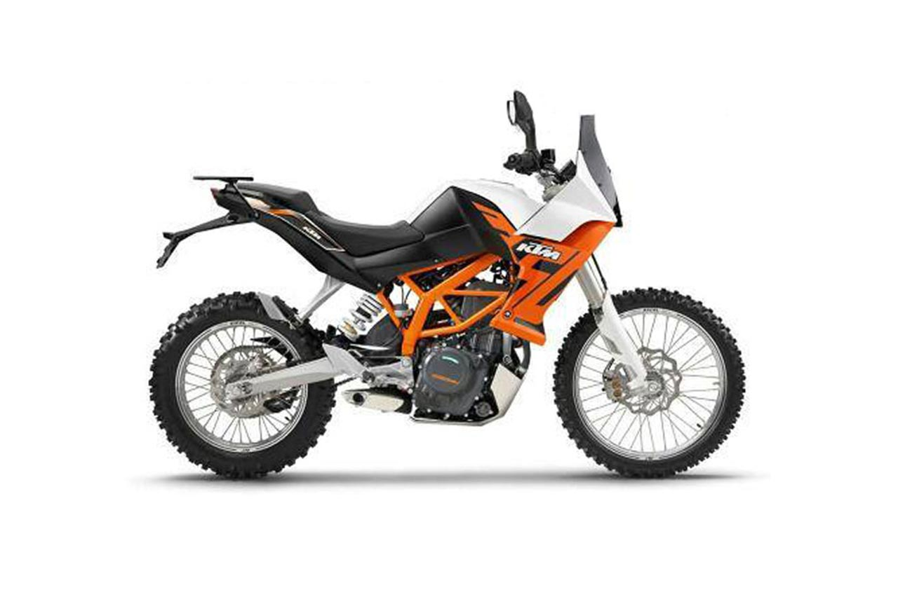 report  ktm 390 adventure begins testing in india