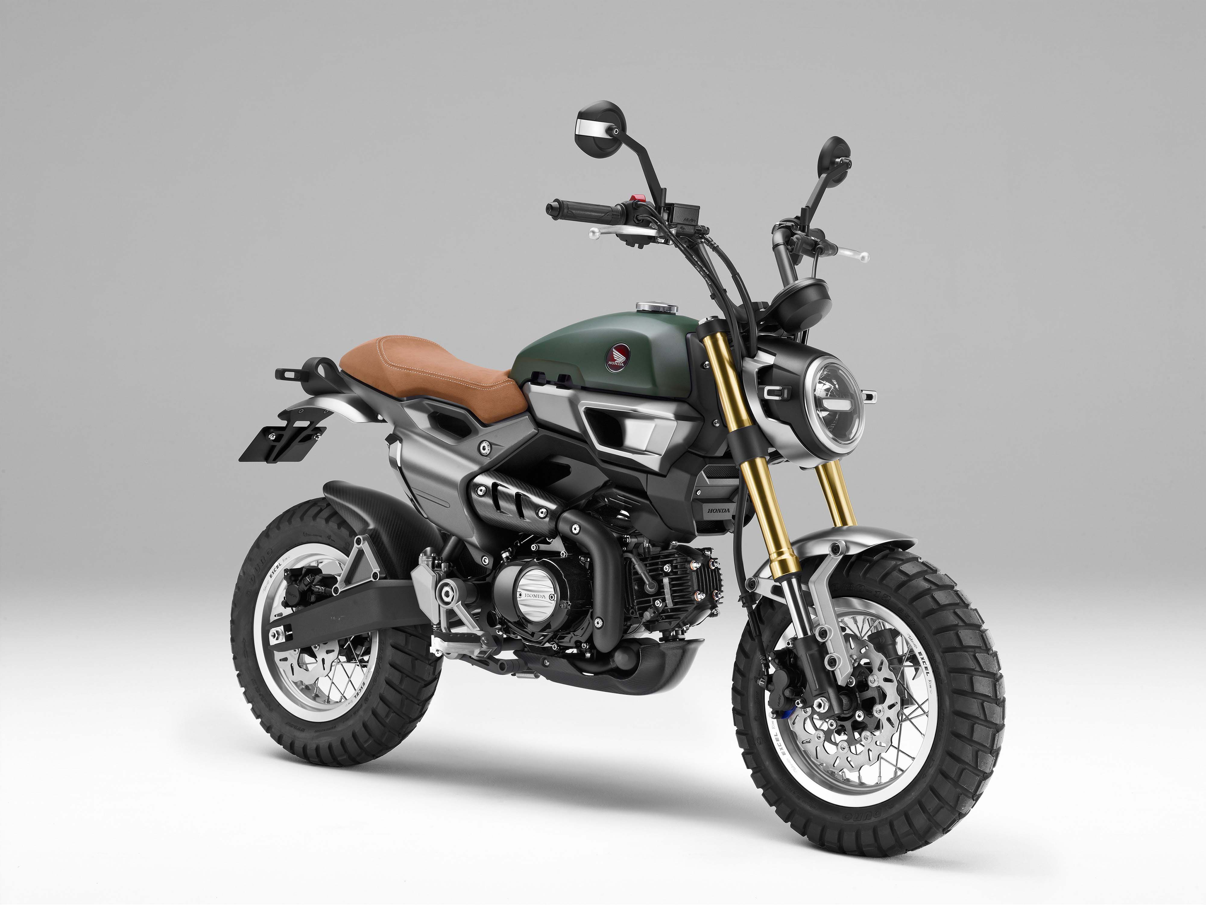 honda grom 50 scramblers are the cutest dirt bikes ever. Black Bedroom Furniture Sets. Home Design Ideas