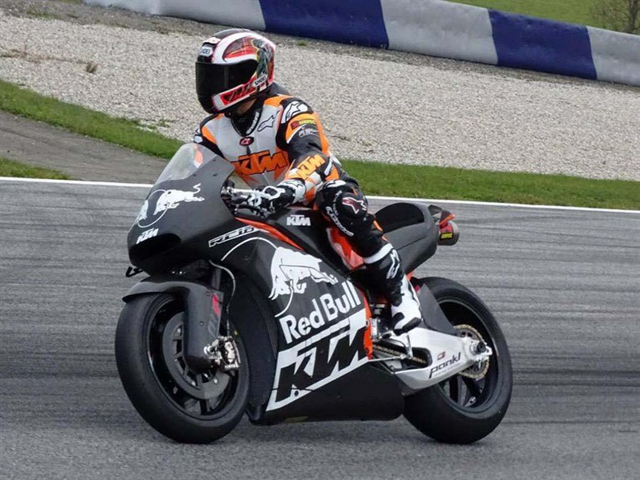 First Photos of the KTM RC16 MotoGP Race Bike