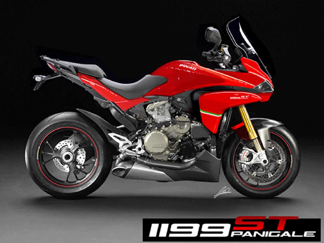 This Ducati 1199 Panigale ST Concept Whets Our Appetite ...