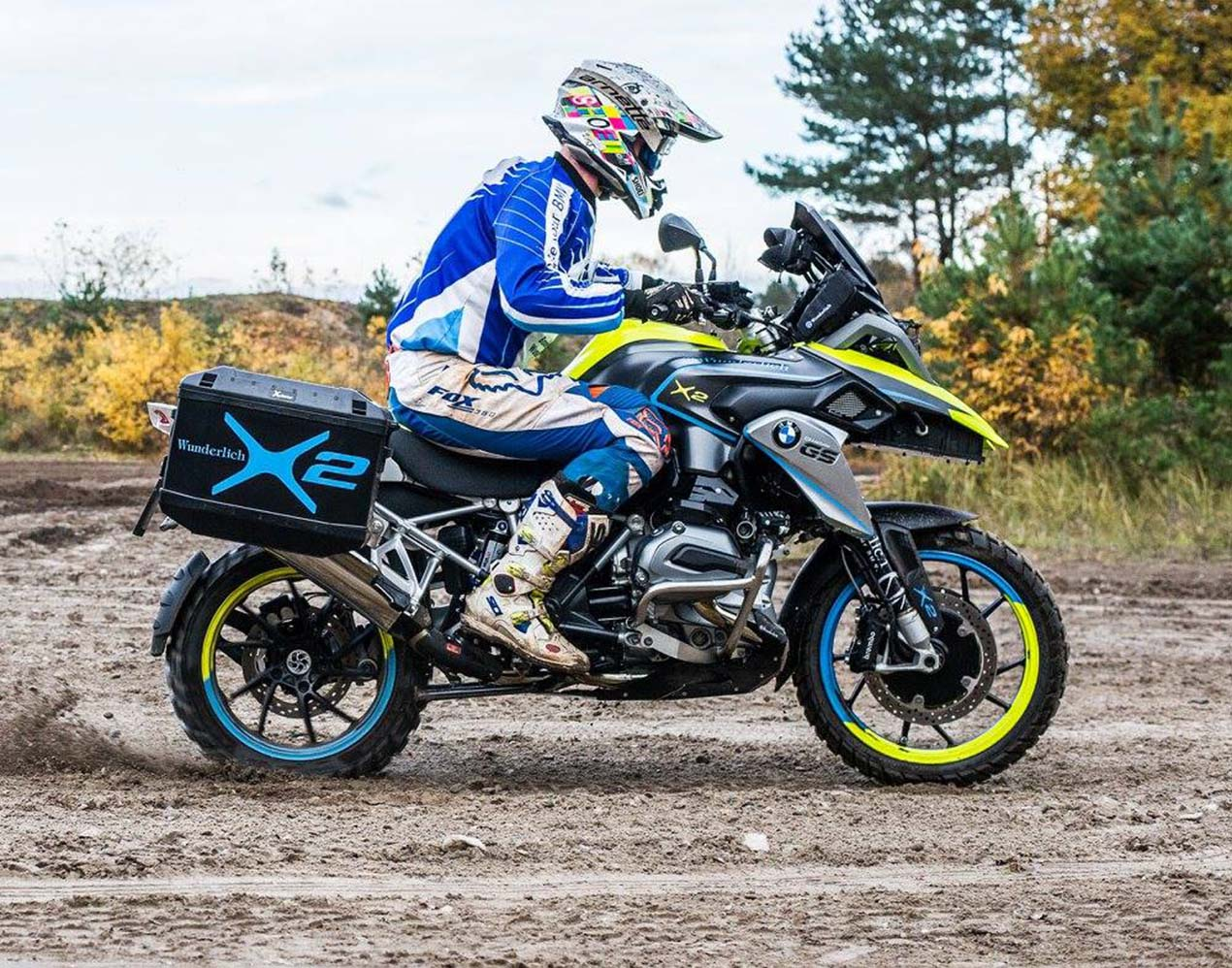 Wunderlich x2 electric 2wd bmw r1200gs for Gs decorating