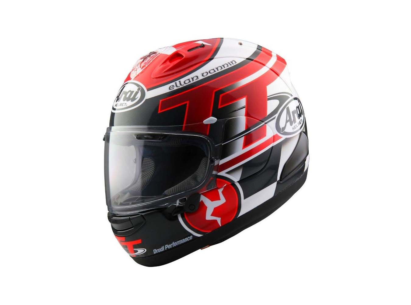 arai unveils its 2016 limited edition isle of man tt helmet. Black Bedroom Furniture Sets. Home Design Ideas
