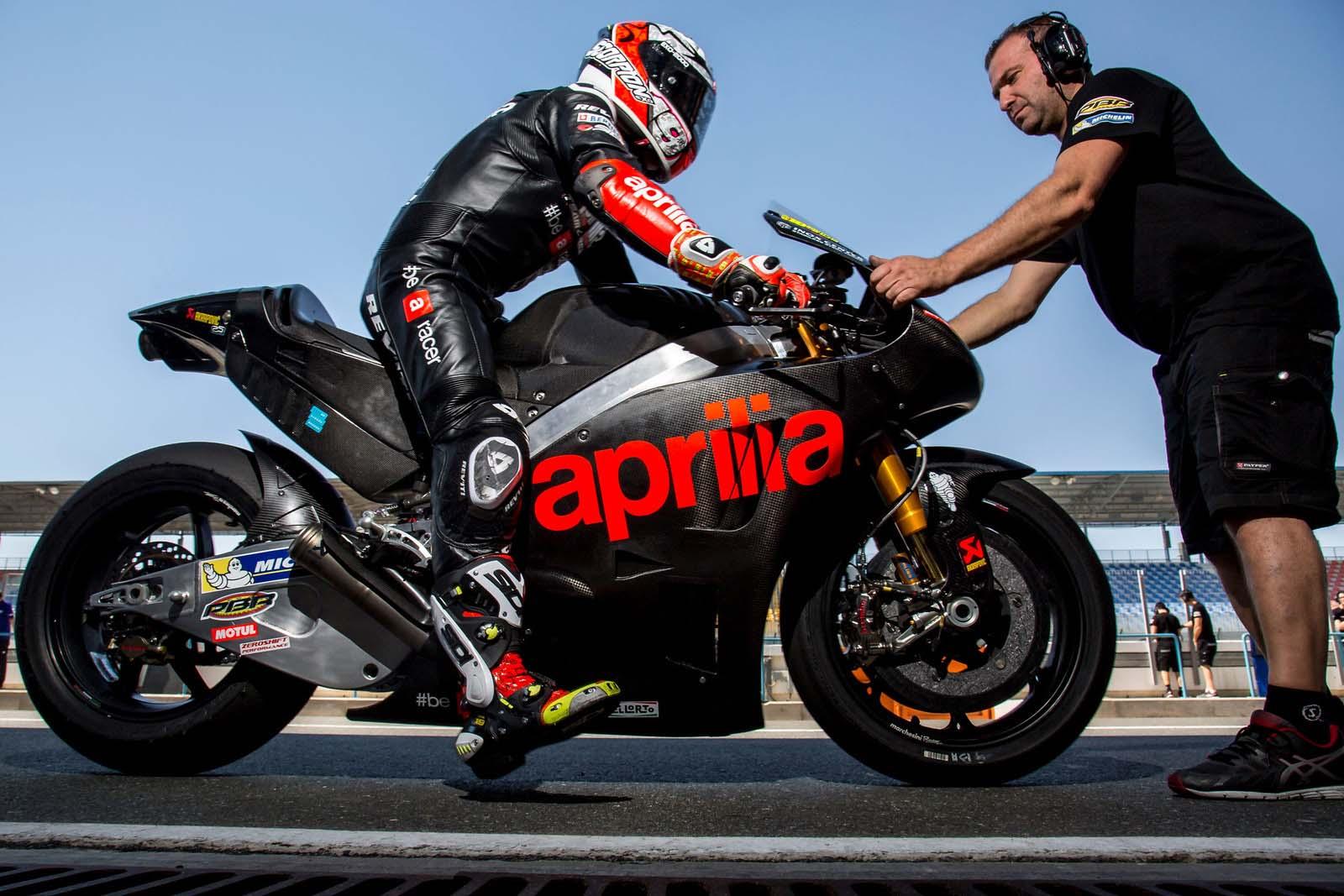Aprilia Racing Team Gresini Reveals the All-New RS-GP Bike