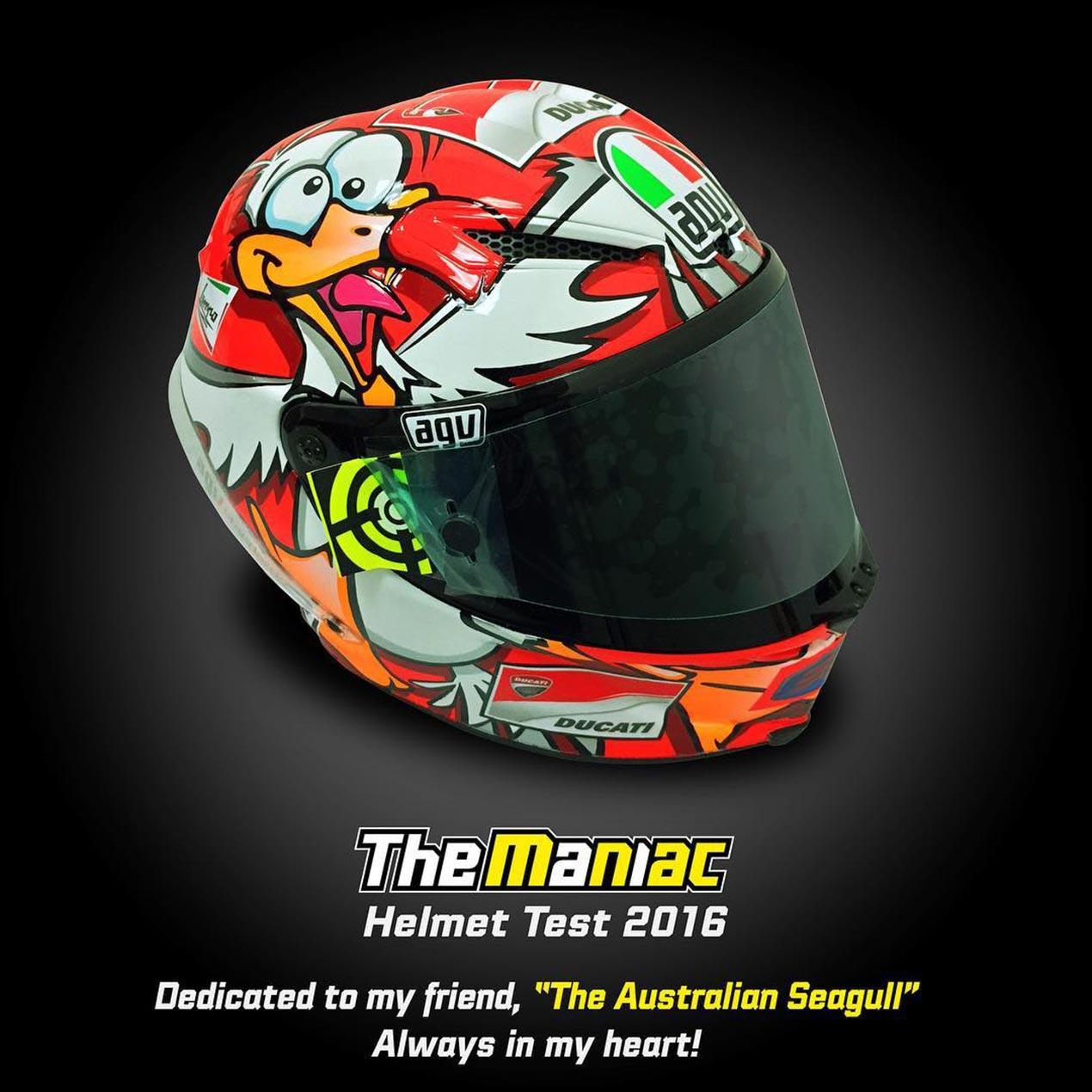 Ducati Bird Helmet