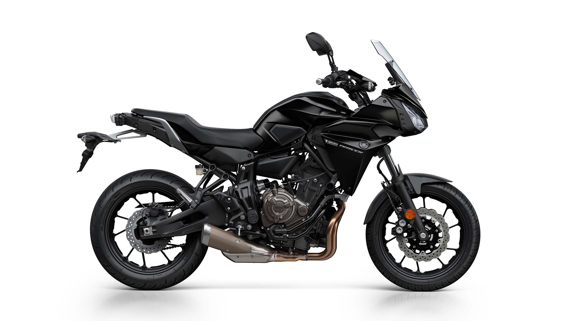 yamaha tracer 700 sport tourer debuts for europe. Black Bedroom Furniture Sets. Home Design Ideas