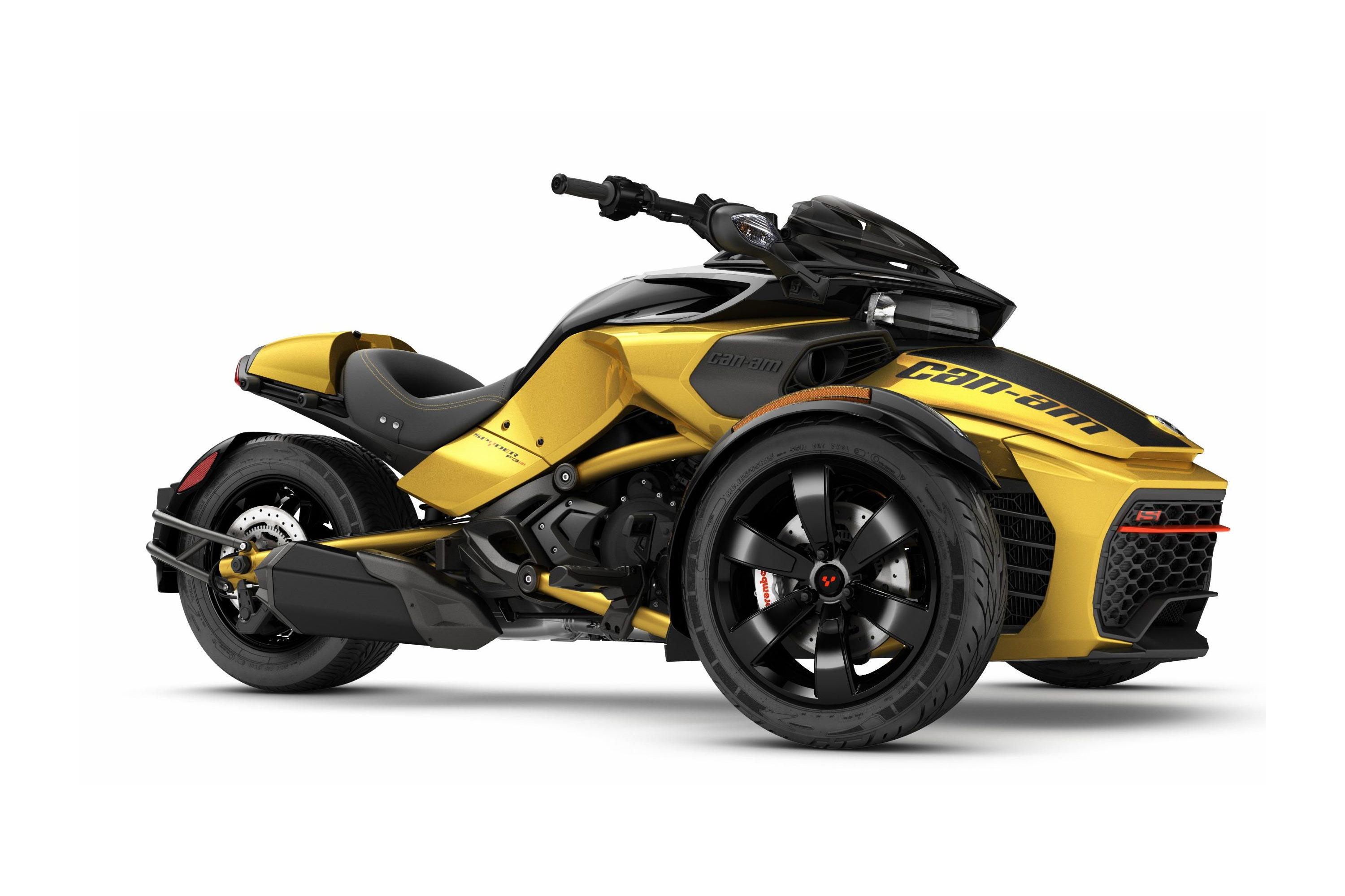 the 2017 can am spyder f3 s becomes almost fun. Black Bedroom Furniture Sets. Home Design Ideas