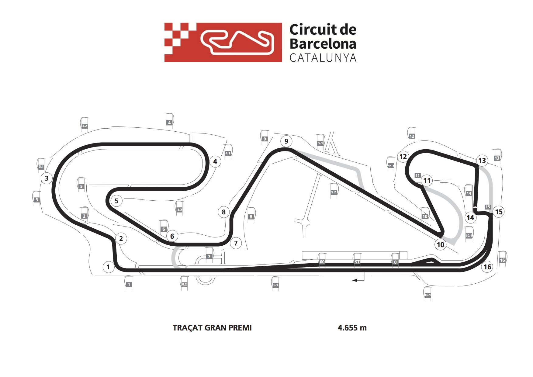 Catalunya Track & Schedule Modified After Salom Incident