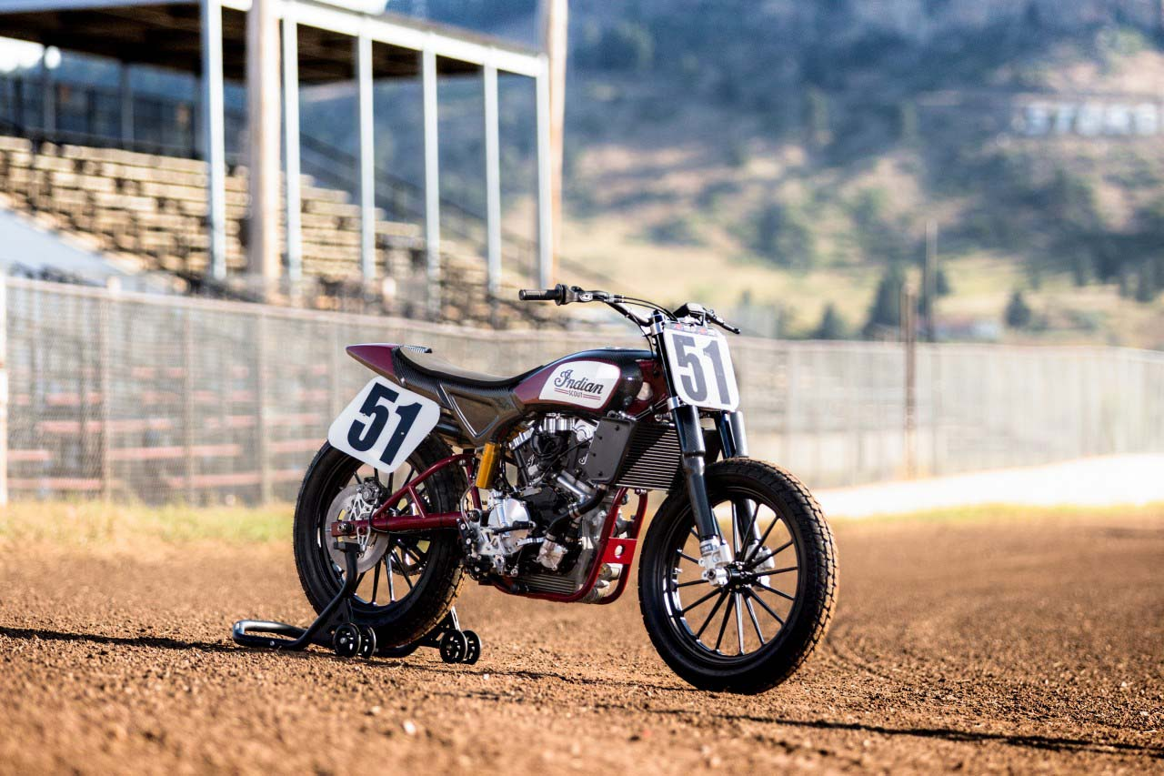 Indian Scout FTR750 Flat Track Race Bike Debuts Race Bike Photos