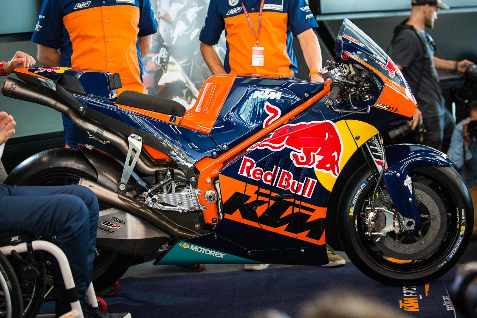 Analyzing the KTM RC16 MotoGP Bike