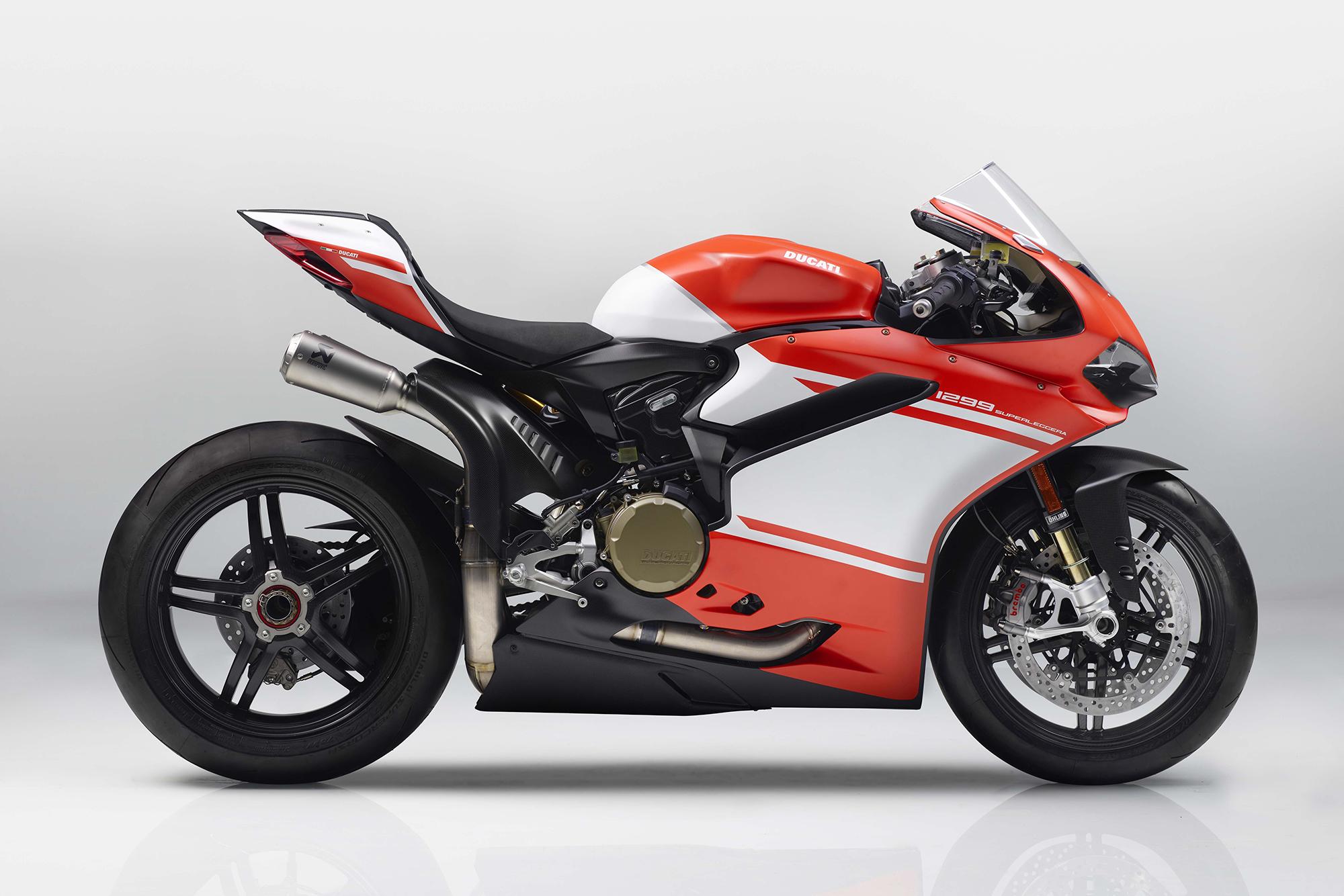 Ducati Superleggera Exhaust