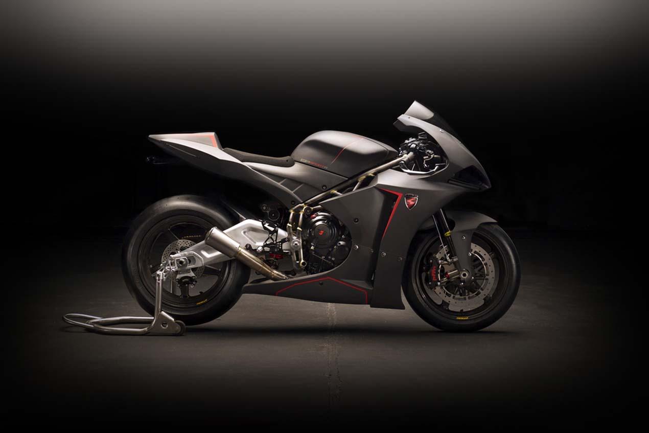 Spirit Motorcycles Debuts Potent Three-Cylinder Sport Bikes