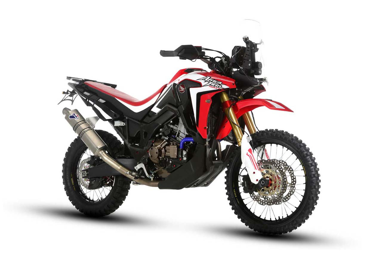 Motorcycle Led Kit >> The Honda Africa Twin Gets Rally Raid Ready - Asphalt & Rubber