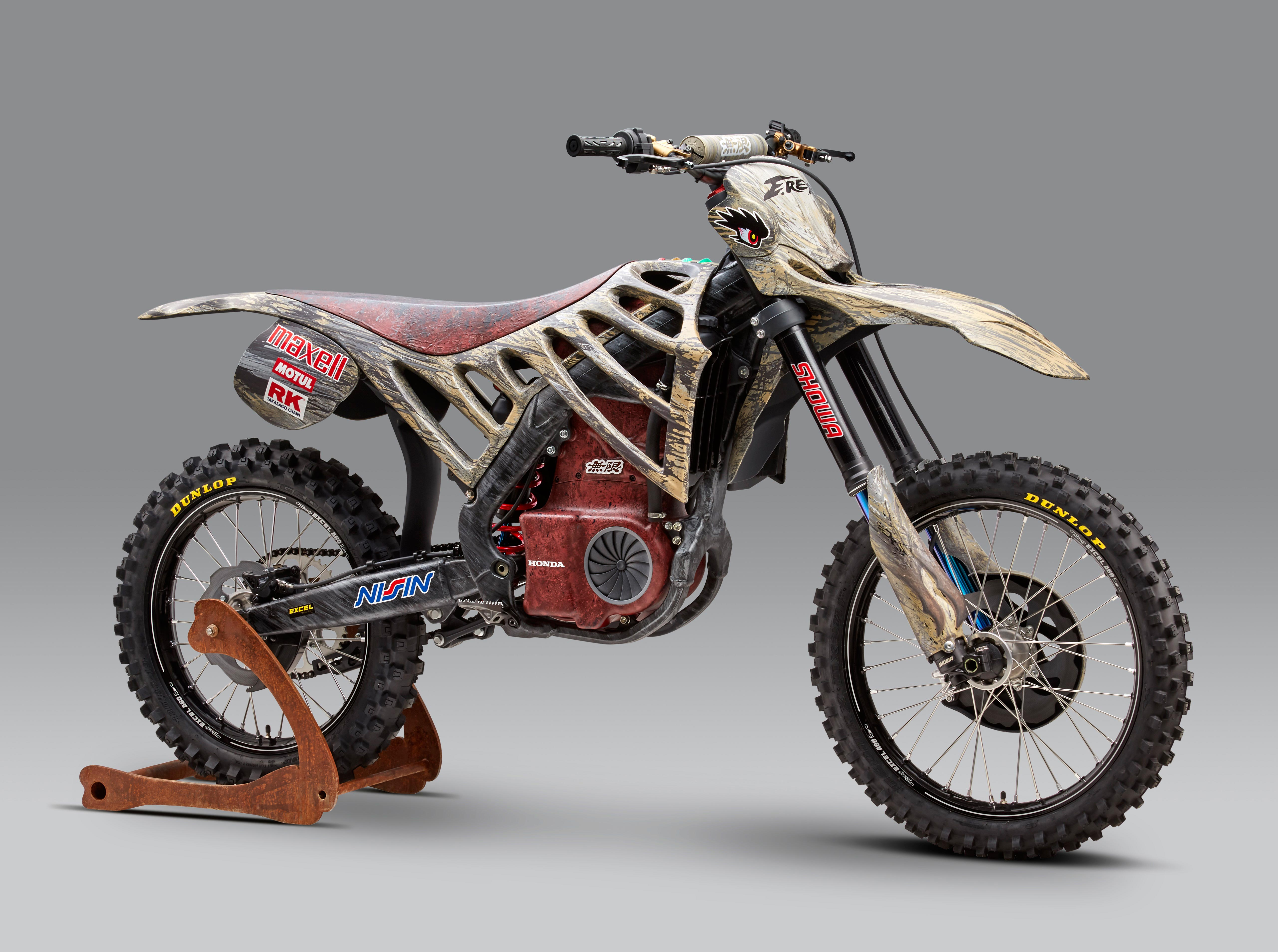 mugen debuts an electric motocross race bike asphalt. Black Bedroom Furniture Sets. Home Design Ideas