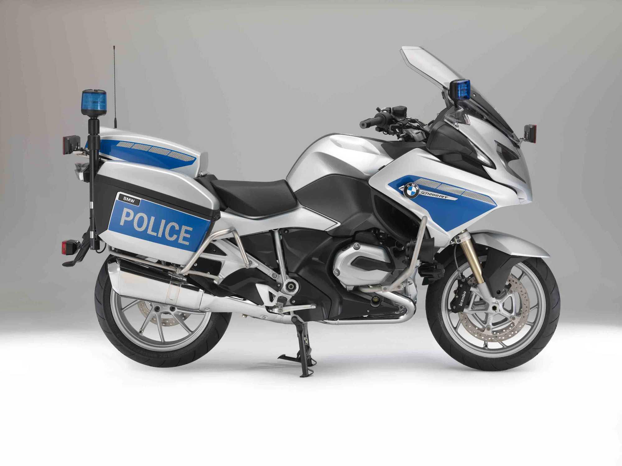 Recall: BMW R1200RT Police Bike - Asphalt & Rubber
