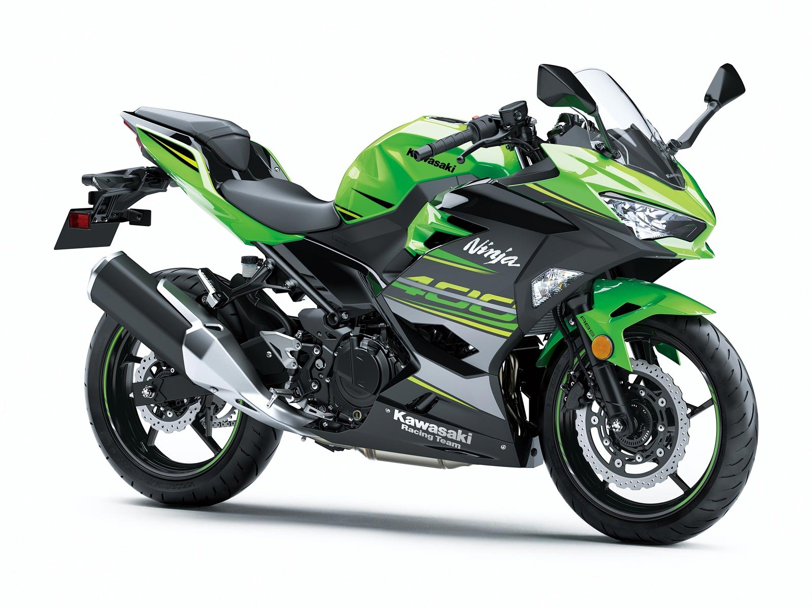 kawasaki ninja 400 debuts for 2018. Black Bedroom Furniture Sets. Home Design Ideas