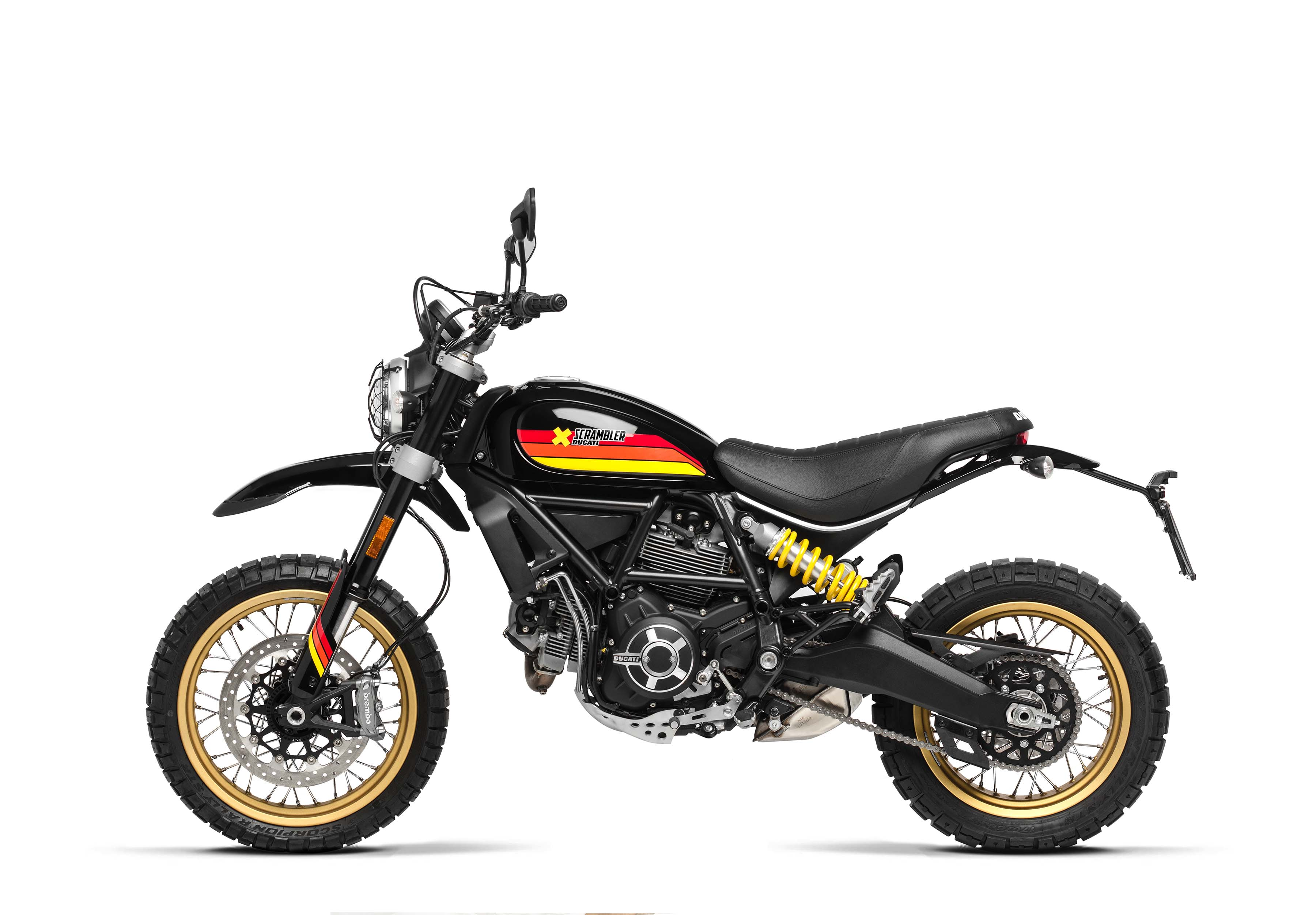 ducati desert sled model gets worst name but best paint asphalt rubber. Black Bedroom Furniture Sets. Home Design Ideas