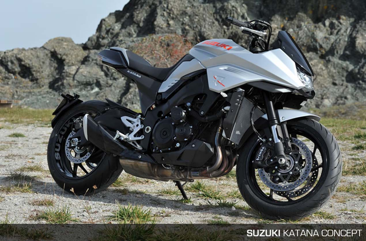 that suzuki katana 3 0 concept though asphalt rubber. Black Bedroom Furniture Sets. Home Design Ideas