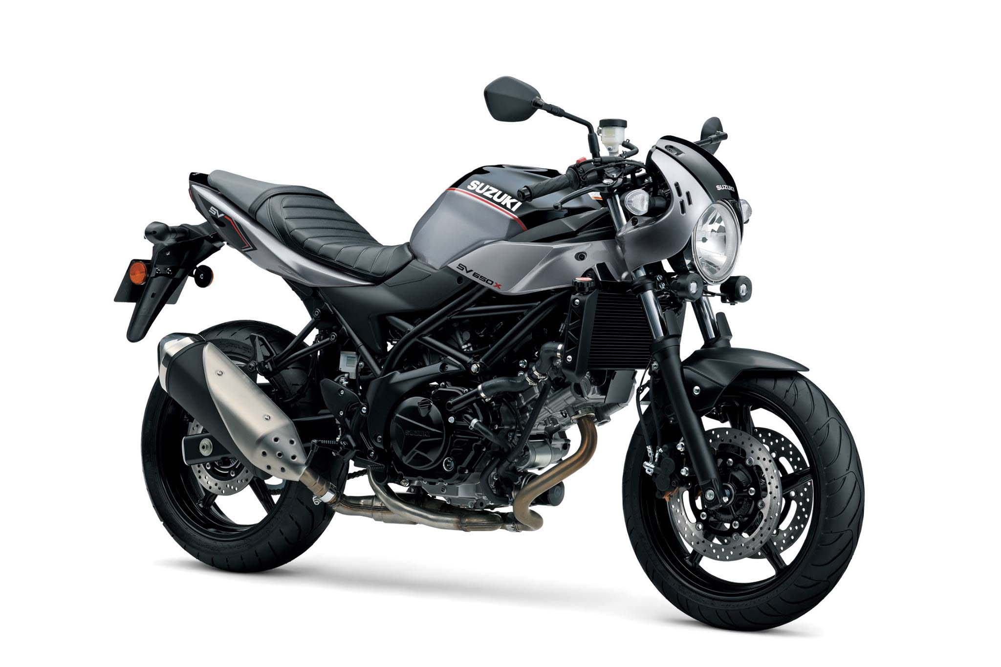 Suzuki's SV650X Brings Heritage to a Line that Has None
