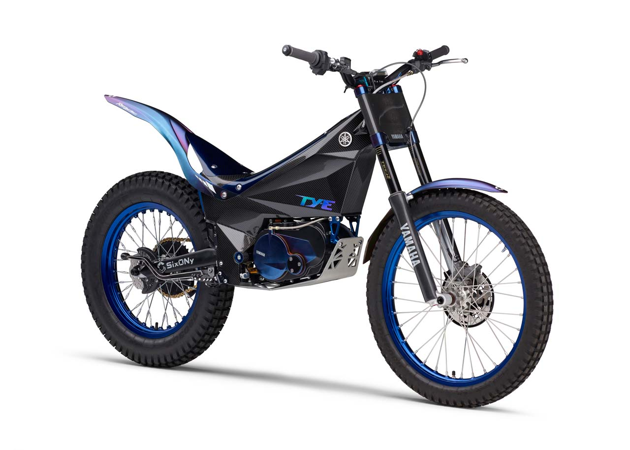 yamaha 39 s super trick electric trials bike debuts asphalt. Black Bedroom Furniture Sets. Home Design Ideas