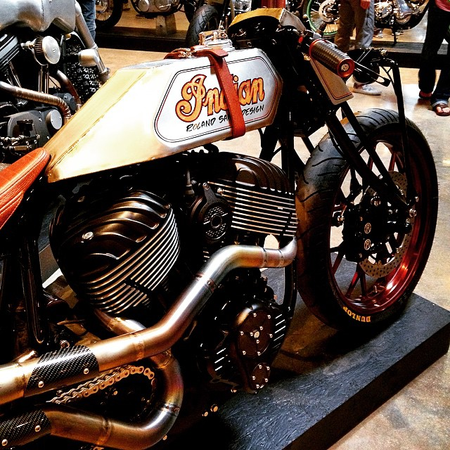 Sweet dreams, dreamers. #Indian #Motorcycle #Handbuilt #TheHandbuiltShow #Custom #Moto #Motorbike #InstaMoto #InstaGood #Bike #BikeLife #RolandSands #Austin #Texas #Beauty #Art #Design