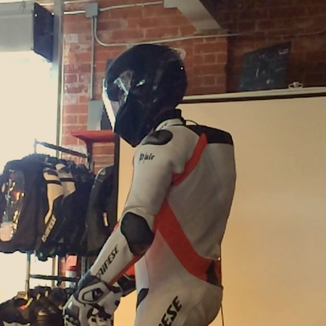 Here's a high-speed look at the @daineseofficial D-Air airbag suit, tested right in front of us. #Dainese #Moto #Motorbike #MotoLife #InstaMoto #Motorcycle #Bike #BikeLife #Rider #Safety #Leather #AirBag #DairArmor #InstaBike #Ride #Rider