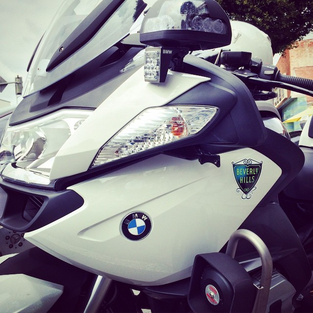 Beverly Hills, You Fancy Huh? #Moto #Motorbike #Motorcycle #BMW #Motorrad #BeverlyHills #California #Police #BikeLife #Bike #InstaMoto