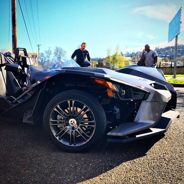 ZOMG! so much fun. #Polaris #Slingshot