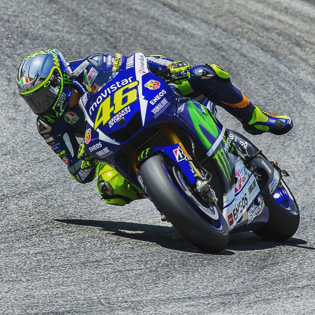 Slip'N'Slide... #Rossi Style. Photo: @tonygoldsmithphotography #MotoGP #VR46 #ItalianGP #Italy #Yamaha #Race #Rider #Moto #Motorbike #Motorcycle #Bike #BikeLife #InstaMoto #Inspiration #InstaGood #Save #InstaBike #
