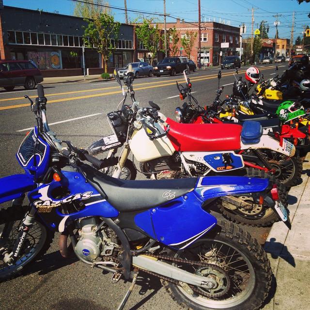 Brap after Brap after Braaaap. Alley Sweeper 2015 #Moto #Motorbike #Motorcycle #Motorsport #Portland #Oregon #Ride #InstaMoto #InstaGood #Honda #Yamaha #Suzuki #Kawasaki