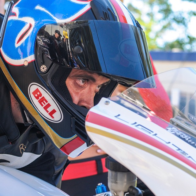 @carlosbandito getting ready to crush #ppihc on an electric motorcycle. #wcw