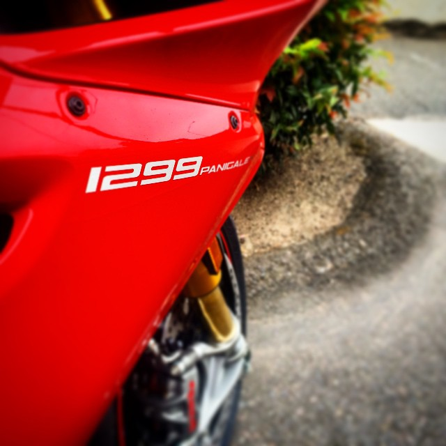 They're here! #Ducati #1299 #Moto #Motorcycle #Motorbike #Motorsport #Bike #BikeLife #Italian #InstaMoto #InstaGood #Sportbike #Ride #Race #Beauty #Art #Portland #Oregon