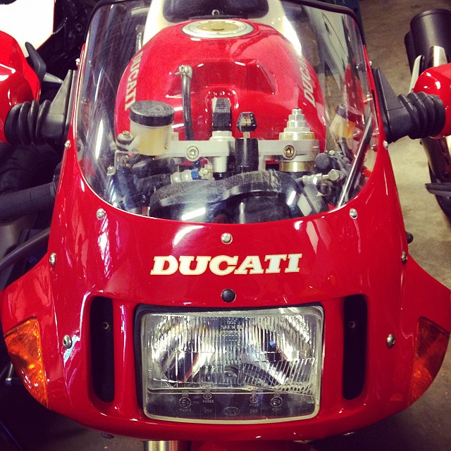 That Beak Though. #Ducati #Classic #Moto #Motorbike #Motorcycle #Motorsport #Bike #BikeLife #InstaMoto #InstaGood #Italian #Portland #Oregon #MotoCorsa