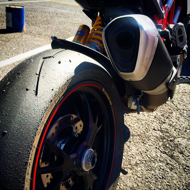 No bad days. #ducati #hypermotard #motocorsa #pdx #PIR #pirelli